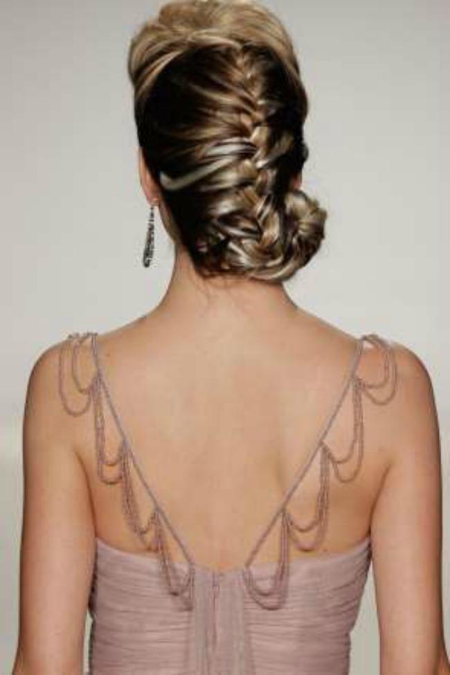 inspiracija za vencanje najlepse frizure sa nedelje mode u njujorku pundja pletenica Inspiracija za venčanje: Najlepše frizure sa Nedelje mode u Njujorku