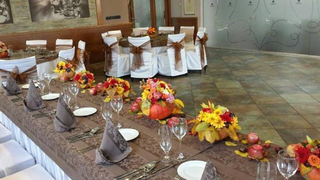 kumbara dekoracija Vaše jesenje venčanje u najlepšem ambijentu restorana Kumbara