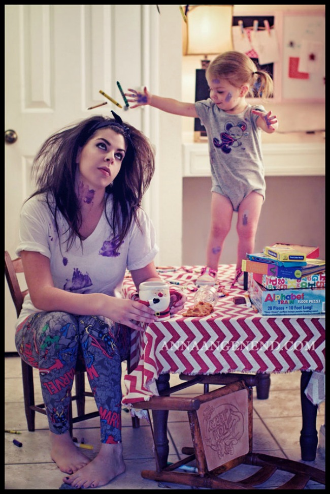 mama11 Materinstvo u šest slika: Pogledajte kako to izgleda