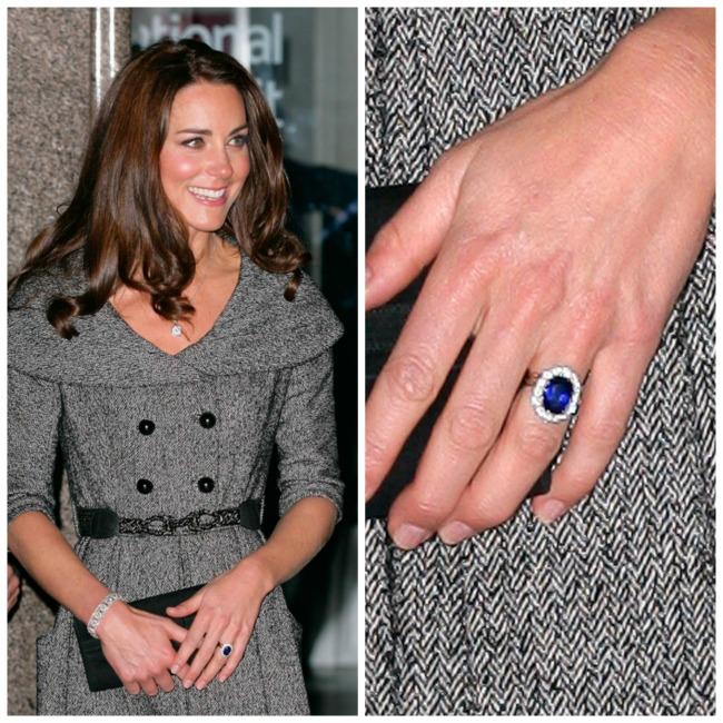 najlepse verenicko prstenje poznatih lepotica kejt midlton Najlepše vereničko prstenje poznatih lepotica