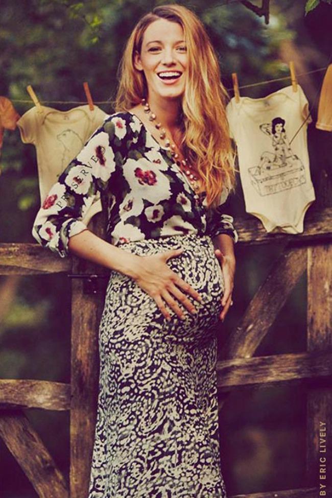 najzanimljivije objave trudnoce poznatih blejk lajvli Najzanimljivije objave trudnoće poznatih