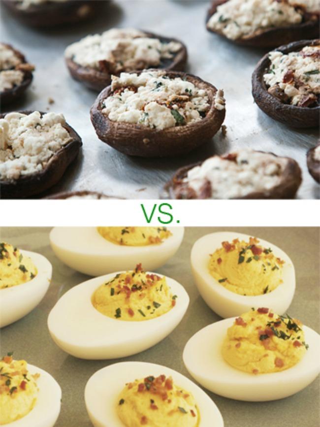 pecurke i jaja1 Izaberite zdravije predjelo