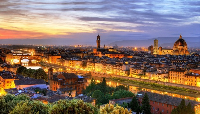 romanticne destinacije firenca panorama Romantične destinacije: Firenca