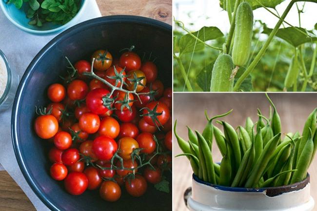salata 2 Lepota ulazi na usta: Salata od boranije, krastavaca i paradajza