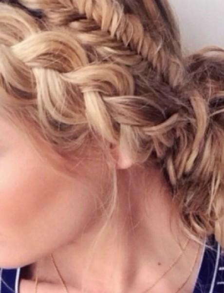 Stajliš frizure za venčanje sa Pinteresta