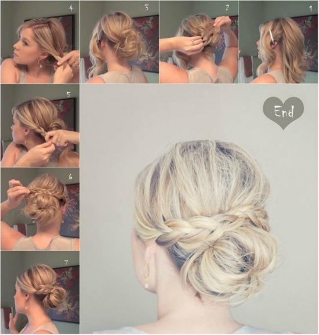 stajlis frizure za vencanje sa pinteresta neuredna pundja pletenica Stajliš frizure za venčanje sa Pinteresta