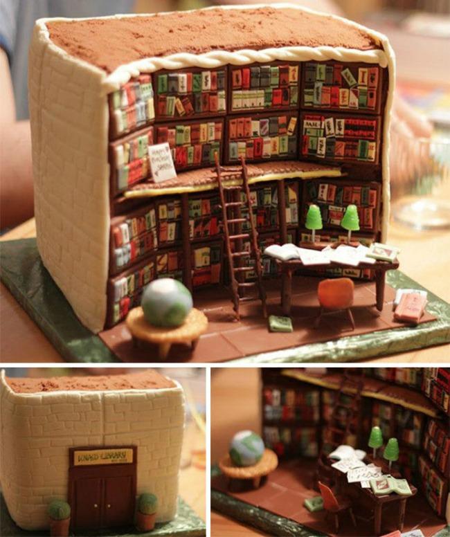 torta bibl1 Torte koje su previše lepe da ih pojedete