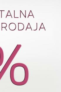 Belgrade Workshop: Totalna rasprodaja – popusti do 70%