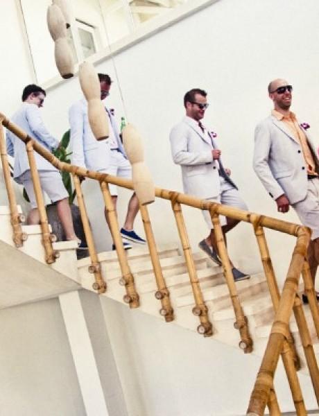 Venčanje: Kad momci poziraju