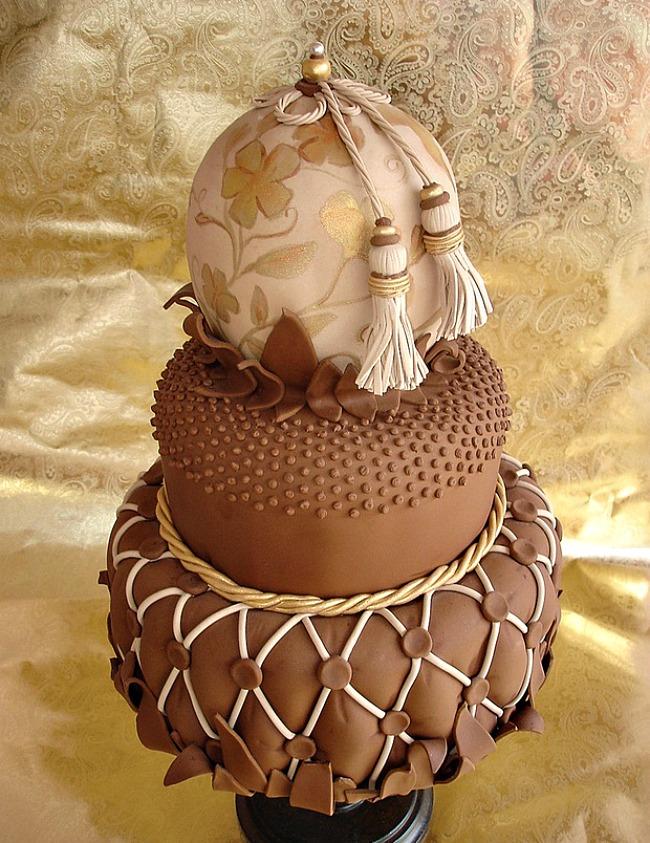 02 Torta tople jesenje boje Savršene torte za tematska venčanja