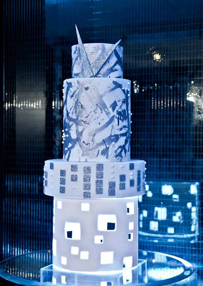 05 Torta futurizam Savršene torte za tematska venčanja