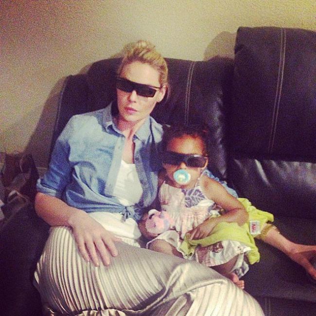 Katherine Heigl Porodične fotografije poznatih na Instagramu