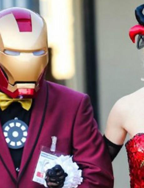 Venčanje inspirisano stripovima i video igricama