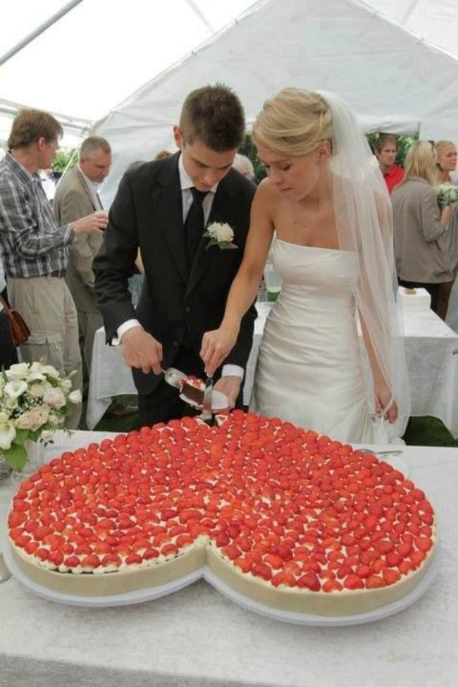 cizkejk za vencanje 4 Čizkejk za venčanje