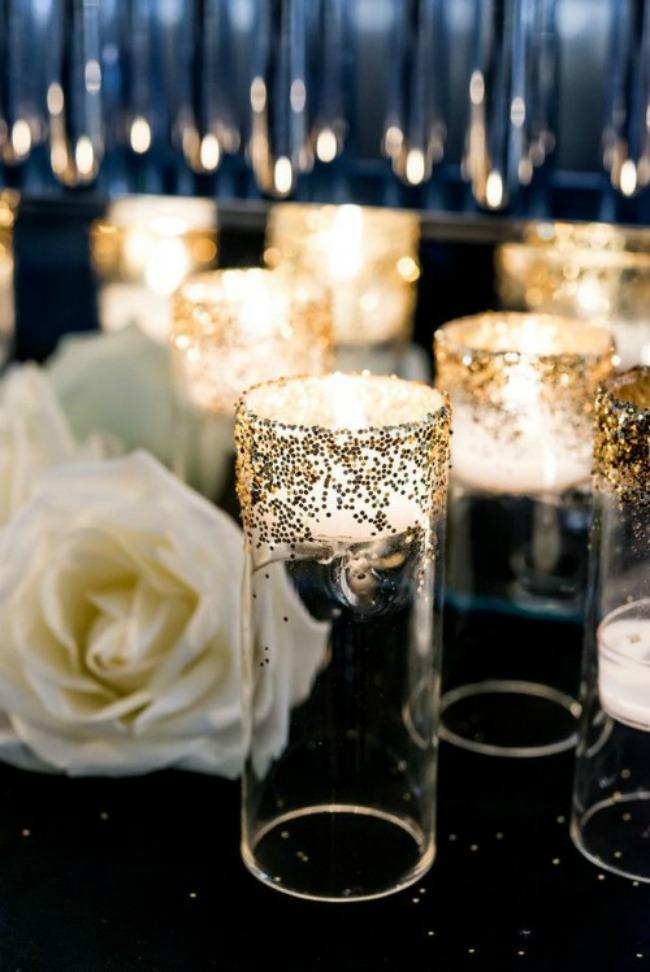 crno i zlatno idealna kombinacija za vencanje svecnjak Crno i zlatno: Idealna kombinacija za venčanje