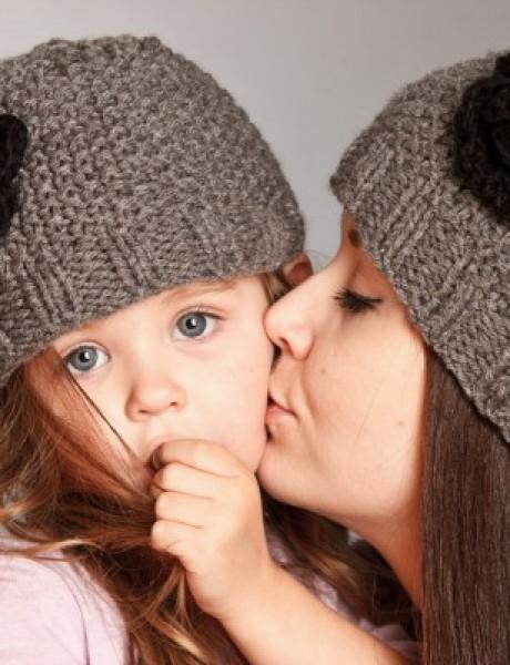 Pletene kape za devojčice