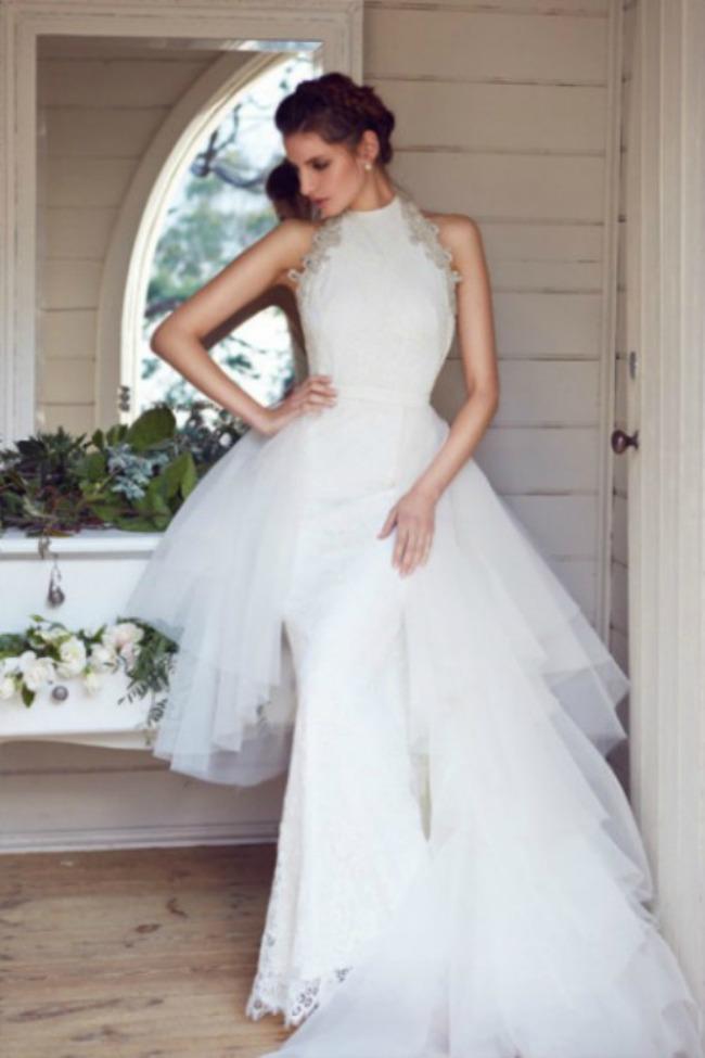 haljine za vencanje halter vencanice 1 Haljine za venčanje: Halter venčanice