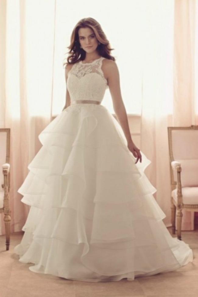 haljine za vencanje halter vencanice 2 Haljine za venčanje: Halter venčanice