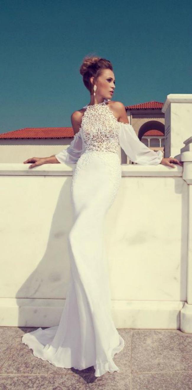 haljine za vencanje halter vencanice 3 Haljine za venčanje: Halter venčanice