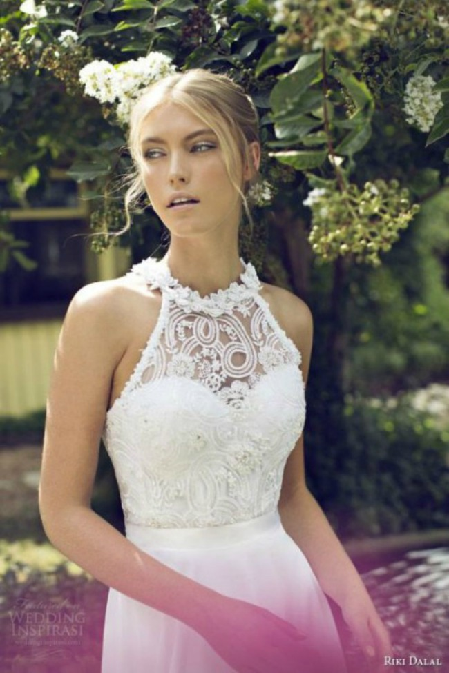 haljine za vencanje halter vencanice 8 Haljine za venčanje: Halter venčanice