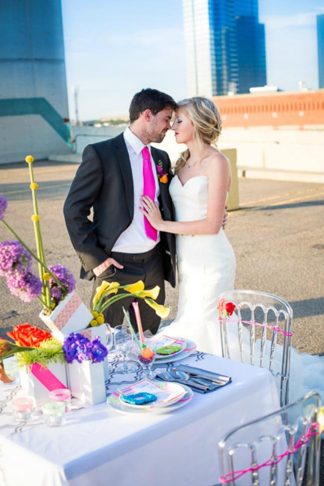 izaberite fluorescentne boje za vencanje 10 Izaberite fluorescentne boje za venčanje