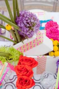 Izaberite fluorescentne boje za venčanje