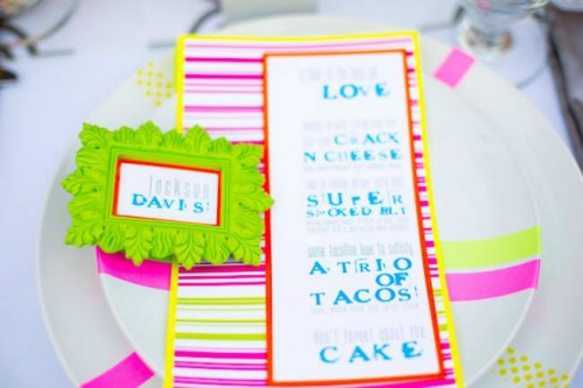 izaberite fluorescentne boje za vencanje 4 Izaberite fluorescentne boje za venčanje