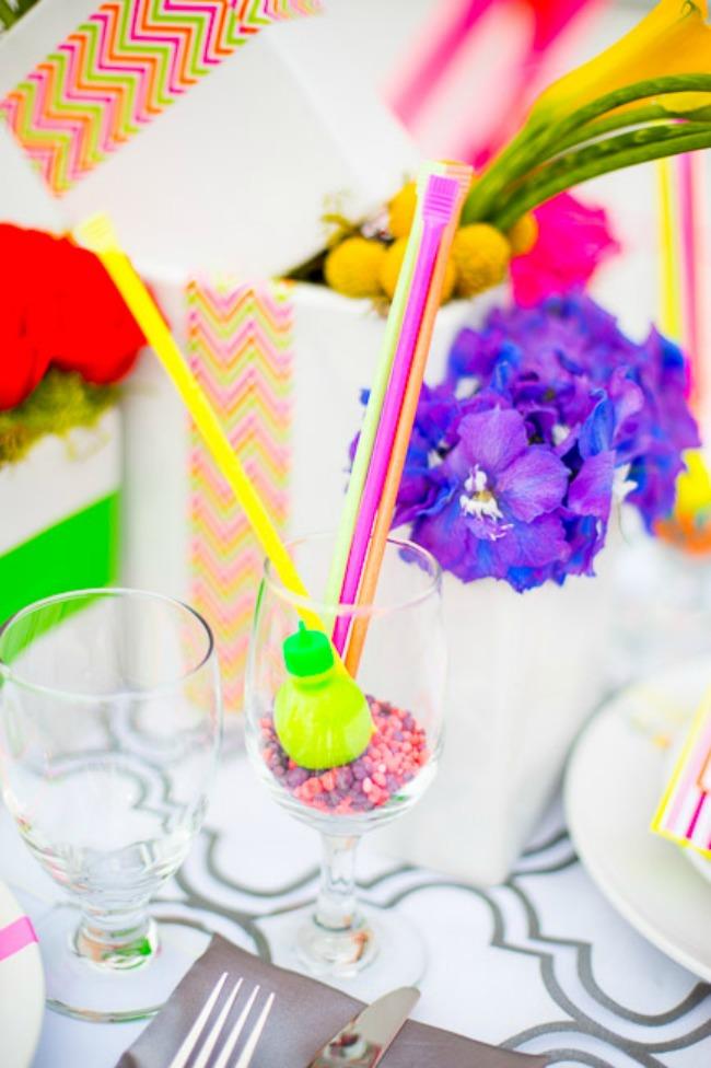 izaberite fluorescentne boje za vencanje 5 Izaberite fluorescentne boje za venčanje