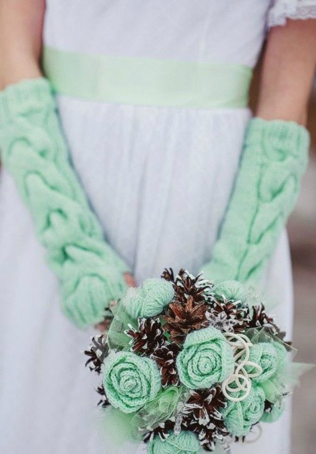 obogatite vase vencanje pletenim detaljima 10 Upotpuni svoje venčanje pletenim detaljima