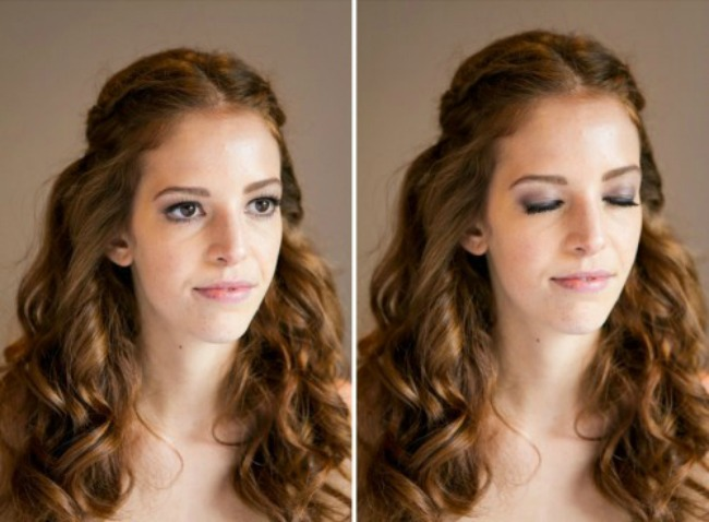 odaberite pastelno zlatnu sminku za vencanje 2 Odaberite pastelno zlatnu šminku za venčanje