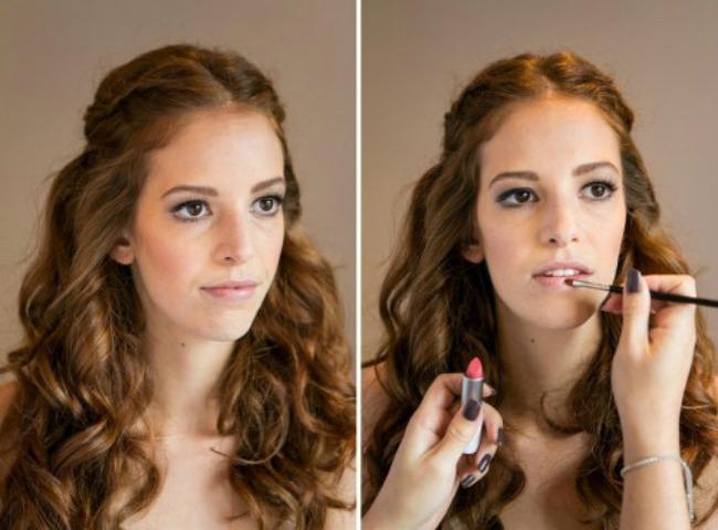 odaberite pastelno zlatnu sminku za vencanje 3 Odaberite pastelno zlatnu šminku za venčanje