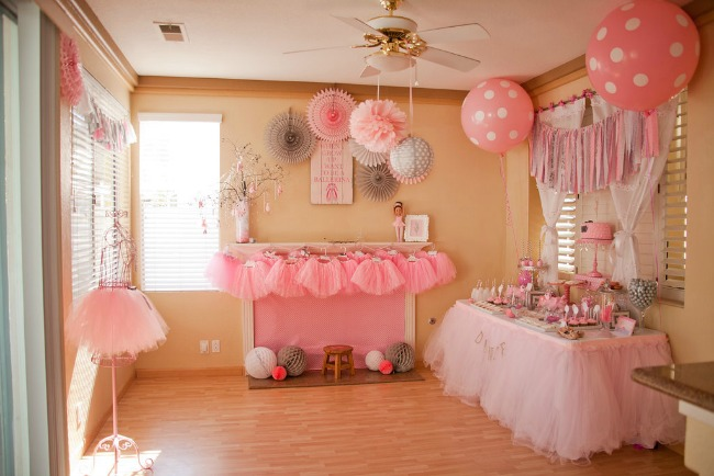 ideje za 1 rođendan Rođendan inspirisan baletom — Wannabe Bride ideje za 1 rođendan