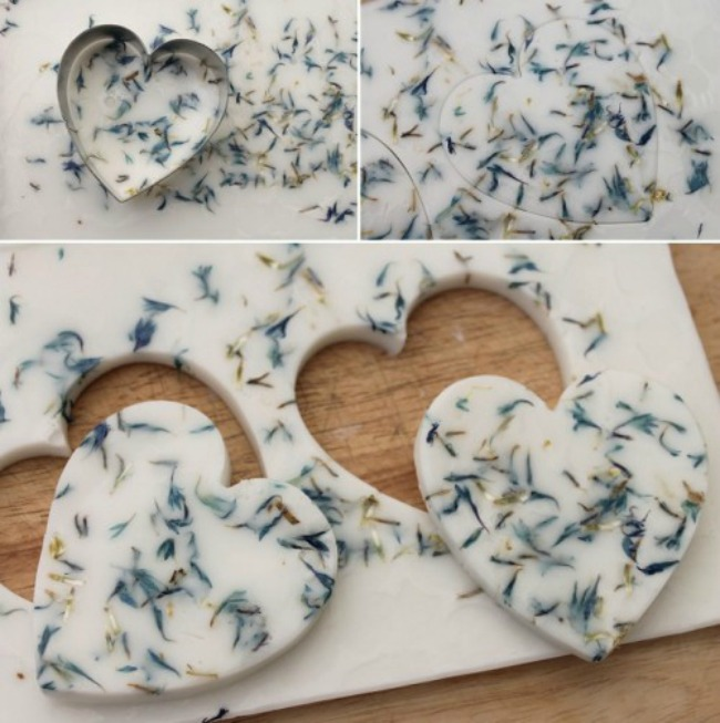 sapuni srca Kako da napravite zanimljiv poklon za goste