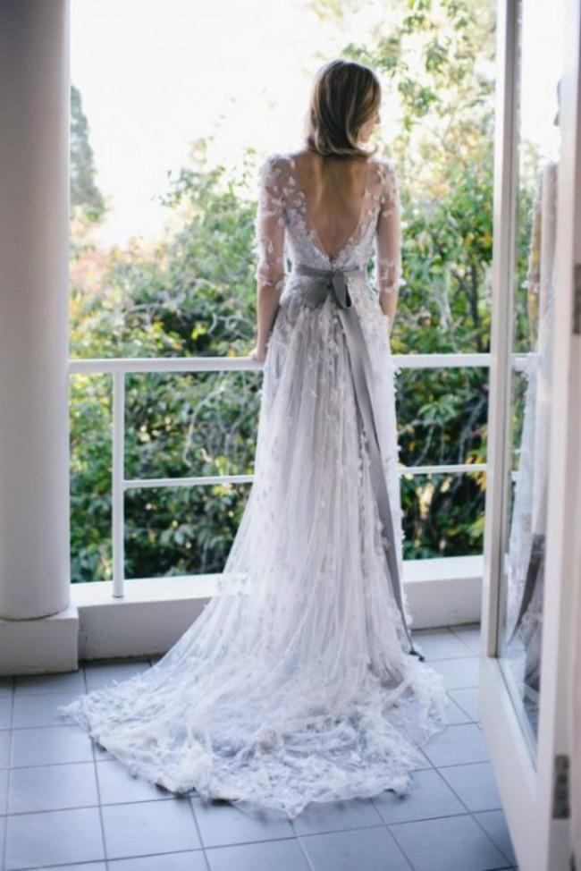 vencanica sa slepom 1 Haljine za venčanje: Venčanice sa šlepom