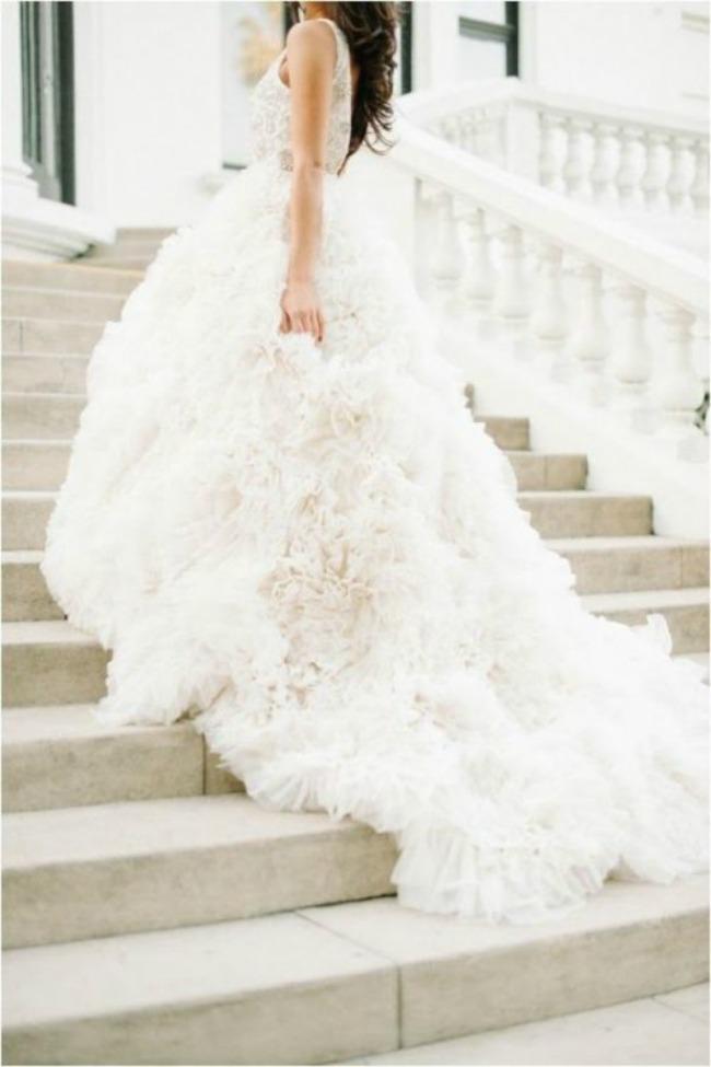 vencanica sa slepom 3 Haljine za venčanje: Venčanice sa šlepom