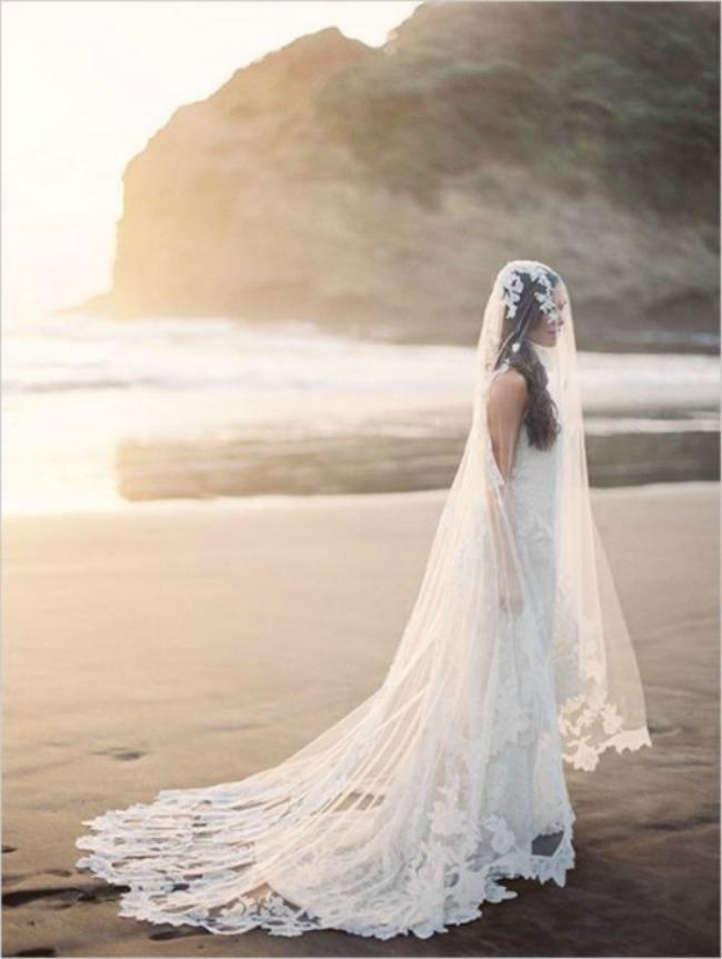 vencanica sa slepom 4 Haljine za venčanje: Venčanice sa šlepom