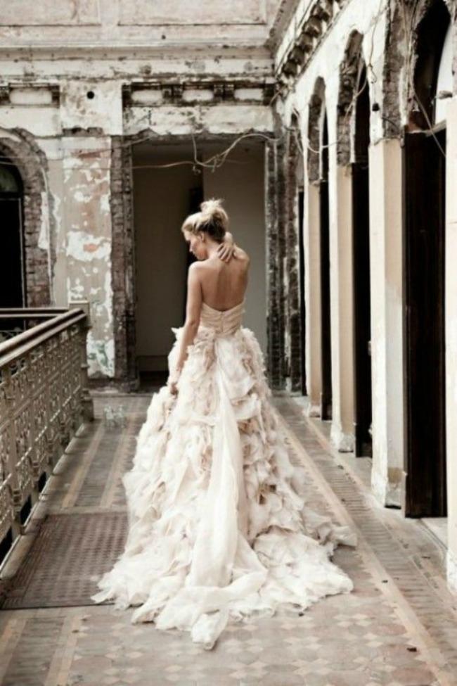 vencanica sa slepom 8 Haljine za venčanje: Venčanice sa šlepom