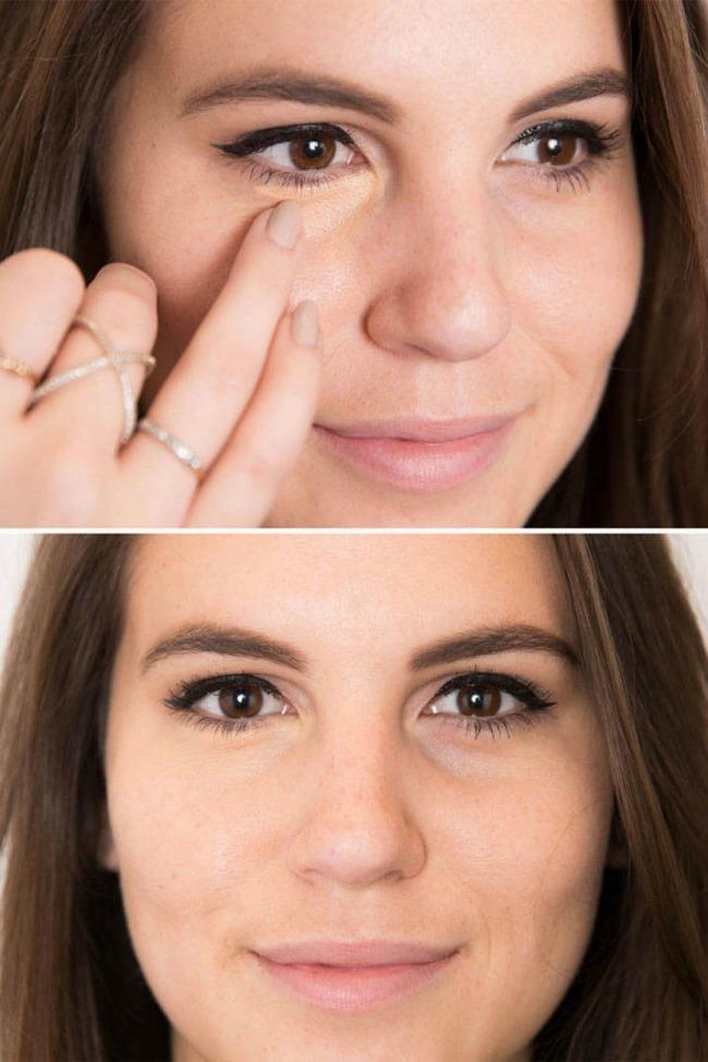 Šminka Osvežite umorne oči 2 Šminka: Osvežite umorne oči