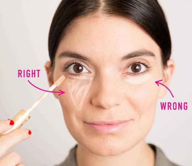 Šminka Pravilno nanošenje korektora Šminka: Pravilno nanošenje korektora