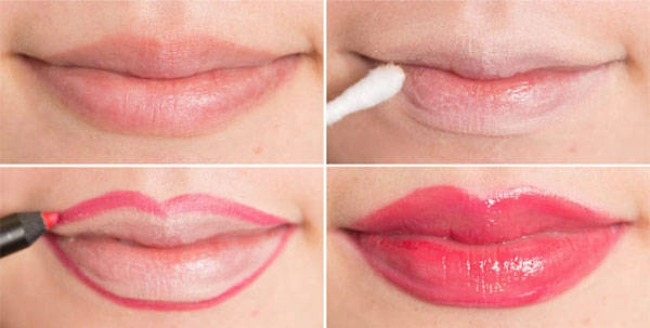 Šminka Vizuelno uvećaj usne Šminka: Vizuelno uvećaj usne