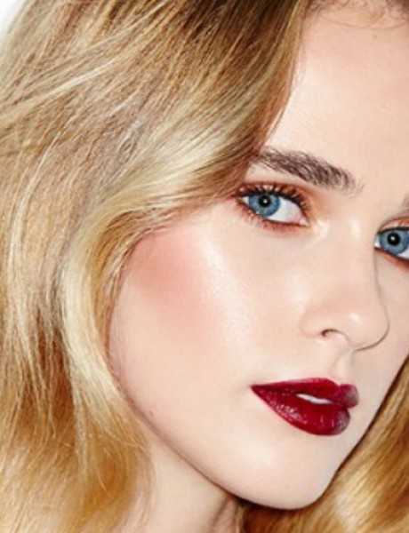 Novogodišnja glamurozna šminka