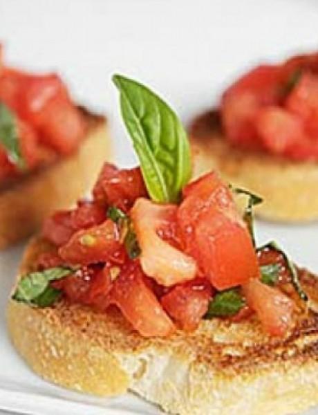 Recept: Brusketi sa paradajzom