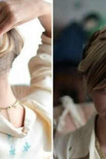 Laka frizura za kume: Ukrajinska pletenica