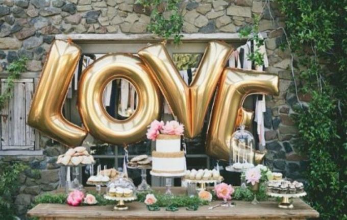 baloni trend 1 Otkrijte novi trend u dekoraciji venčanja