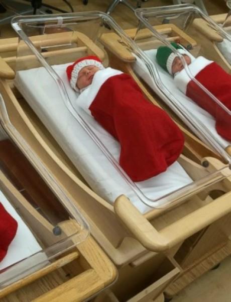 Novorođenčad kao božićni poklon