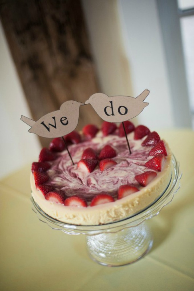 cizkejk 6 Alternativa za svadbenu tortu: Čizkejk