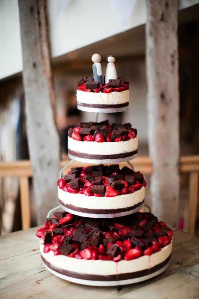 cizkejk 7 Alternativa za svadbenu tortu: Čizkejk