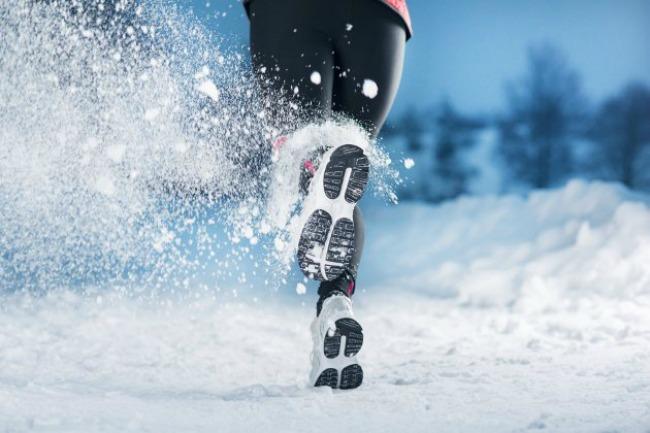 embedded running in the winter Vežbaj i po hladnoći!