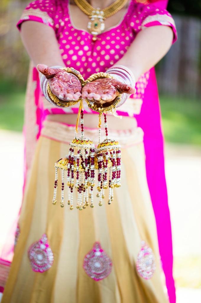 kalire Šta znače delovi nošnje indijske mlade