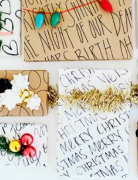 Novogodišnje ideje: Kako da zapakujem poklon